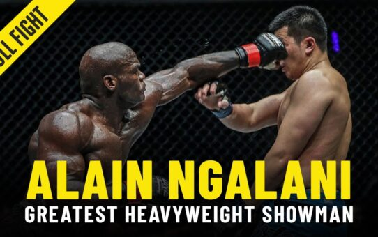 Alain Ngalani Highlights: ONE Championship's Heavyweight Showman