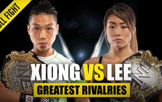 Angela Lee vs. Xiong Jing Nan | ONE Championship's Greatest Rivalries