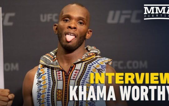 Khama Worthy Plans To Beat Luis Pena At UFC on ESPN 12, 'Take My Ass To Kong Island'- MMA Fighting
