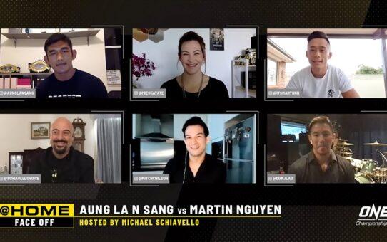 Aung La N Sang vs. Martin Nguyen | ONE@Home Face-Off