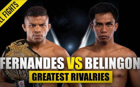 Bibiano Fernandes vs. Kevin Belingon | ONE Championship's Greatest Rivalries