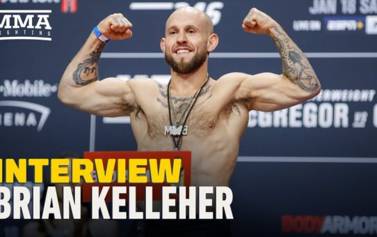Brian Kelleher Inspired by Jorge Masvidal's 2019 Run: 'I Plan to Do the Same Thing' – MMA Fighting