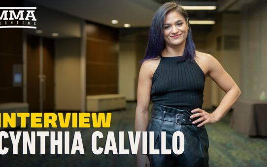 Cynthia Calvillo: 'I Don't Give a Damn What People Say' About Main Event Booking – MMA Fighting