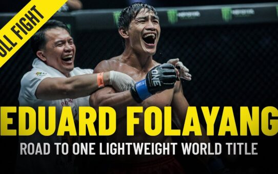 Eduard Folayang's Turning Point | ONE Full Fight & Feature
