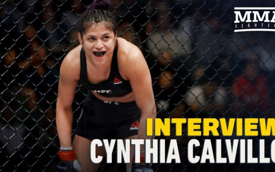 Cynthia Calvillo Over Jessica Eye Weight Miss: 'I'm No. 2 in the World Right Now' – MMA Fighting