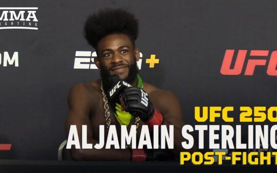 UFC 250: Aljamain Sterling Passionately Addresses Protests, Pending Title Shot – MMA Fighting
