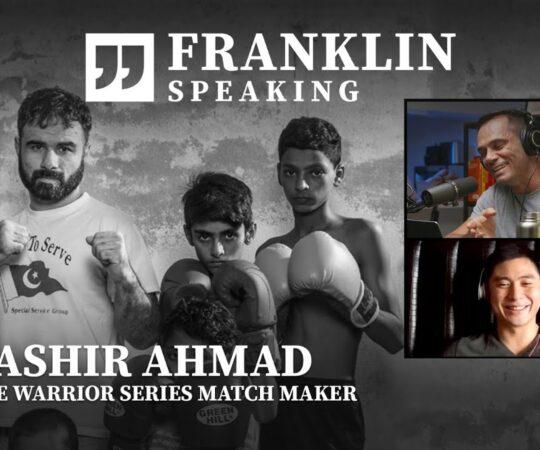 "Franklin Speaking   ""The Godfather Of Pakistani MMA"" Tells All"