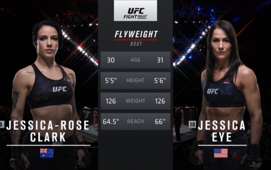 Free Fight: Jessica Eye vs Jessica-Rose Clark