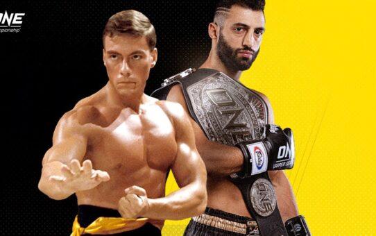 Giorgio Petrosyan vs. Jean-Claude Van Damme   ONE@Home Fantasy Fights