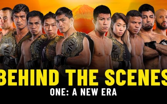 Behind The Scenes At ONE: A NEW ERA | Demetrious Johnson, Eddie Alvarez & More