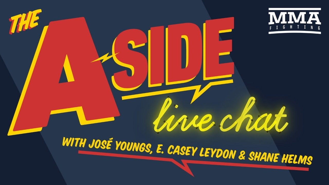 The A-Side Live Chat: Poirier vs. Hooker, Mike Perry's comments, UFC on ESPN 12 fallout