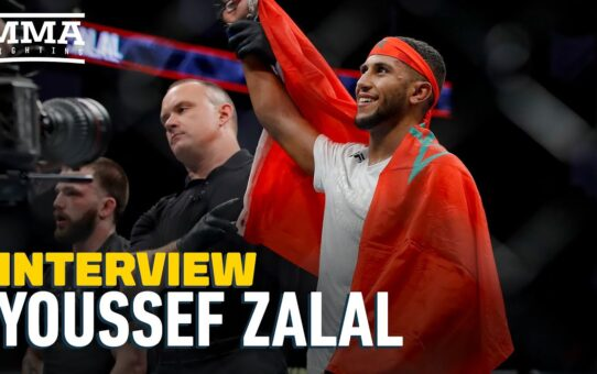 Youssef Zalal Says He Thrives on Short Notice, Predicts 'Fireworks' at UFC on ESPN 12 – MMA Fighting