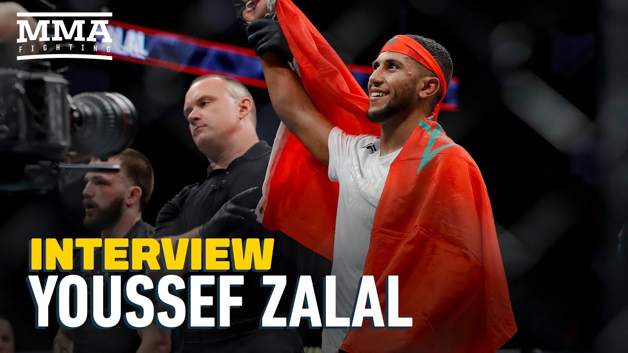 Youssef Zalal Says He Thrives on Short Notice, Predicts 'Fireworks' at UFC on ESPN 12 - MMA Fighting