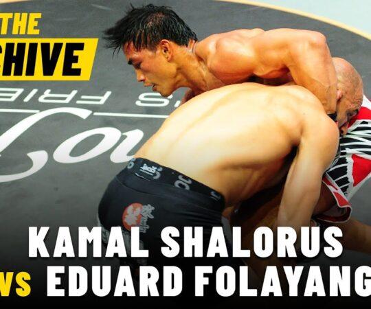 Kamal Shalorus vs. Eduard Folayang   ONE Championship Full Fight   May 2013