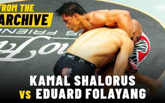 Kamal Shalorus vs. Eduard Folayang | ONE Championship Full Fight | May 2013