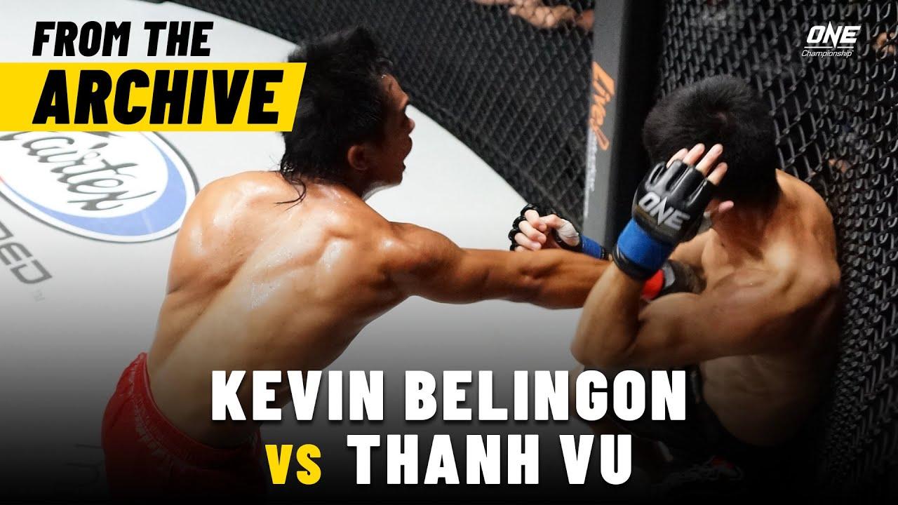Kevin Belingon vs. Thanh Vu | ONE Championship Full Fight | April 2013
