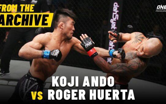 Koji Ando vs. Roger Huerta | ONE Championship Full Fight | September 2015