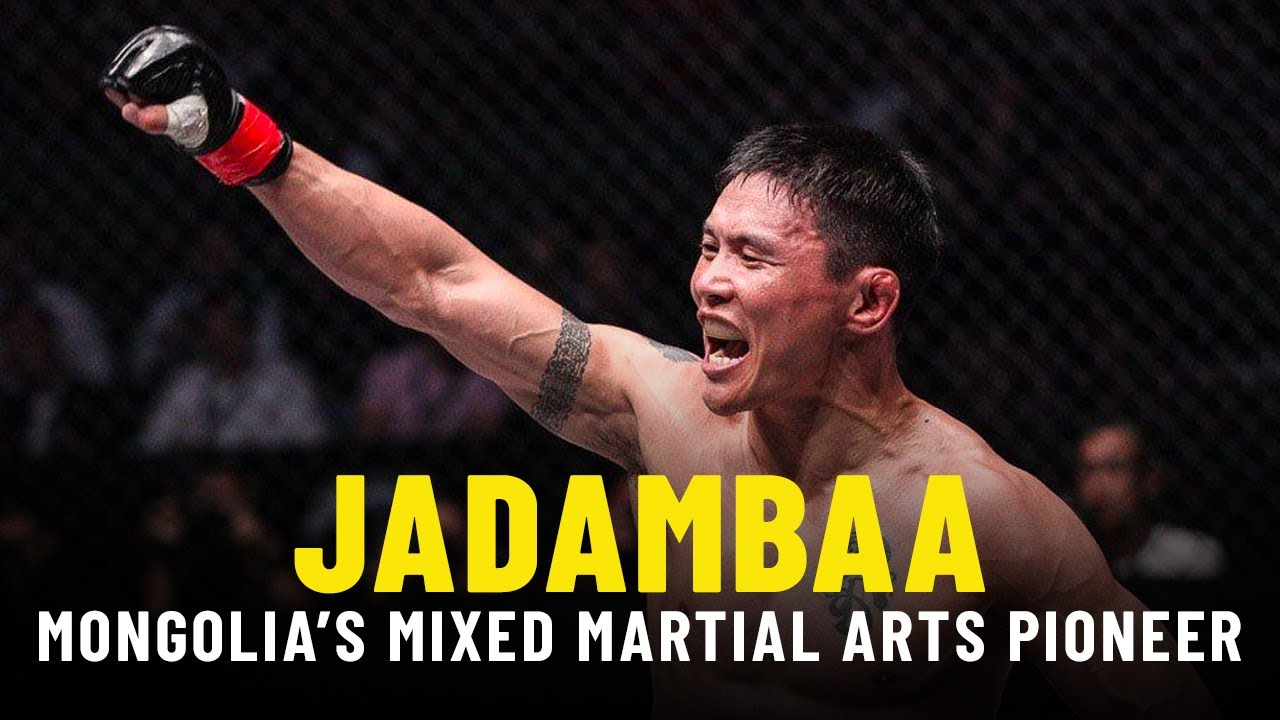 Narantungalag Jadambaa Highlights: Mongolia's Mixed Martial Arts Pioneer