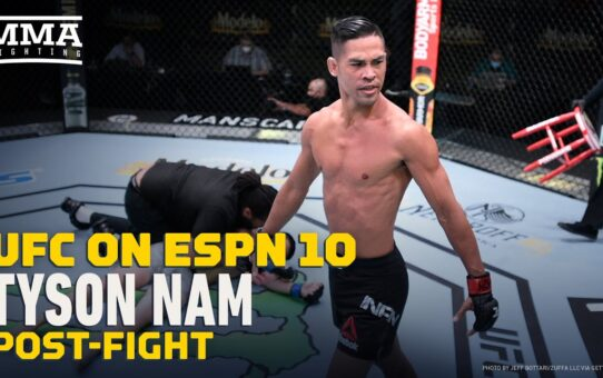 UFC on ESPN 10: Tyson Nam Knew He Was 'Fighting For A Pink Slip' – MMA Fighting