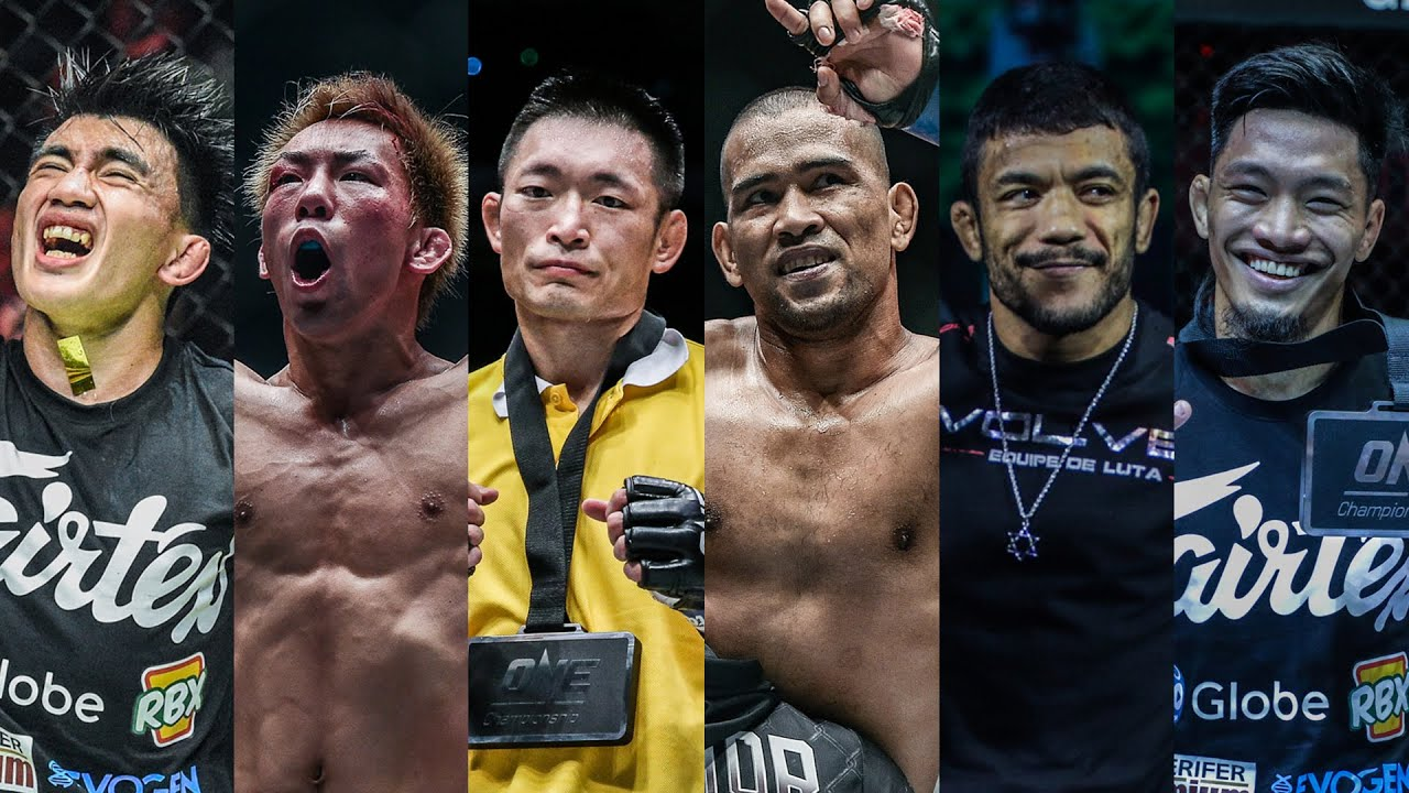 ONE Championship Official Rankings   Top 5 Strawweights