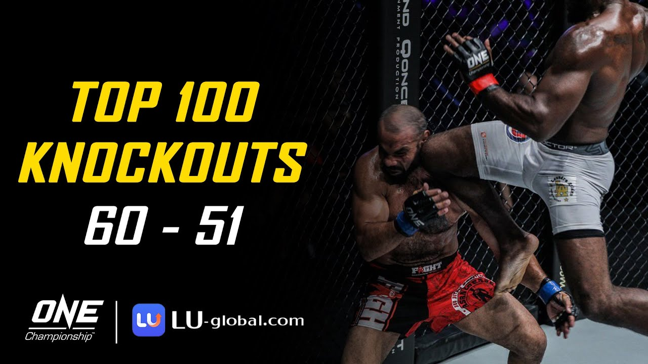 ONE Championship's Top 100 Knockouts | 60-51