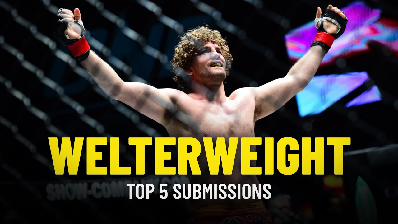 ONE Championship's Top 5 Welterweight Submissions Ft. Ben Askren