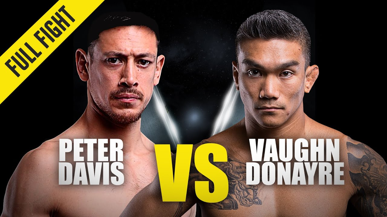 Peter Davis vs. Vaughn Donayre | ONE Championship Full Fight | October 2014