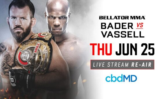 Re-Air | Bellator 186 Ryan Bader vs. Linton Vassell