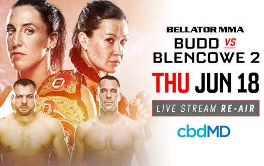 Re-Air | Bellator 189 Budd vs. Blencowe