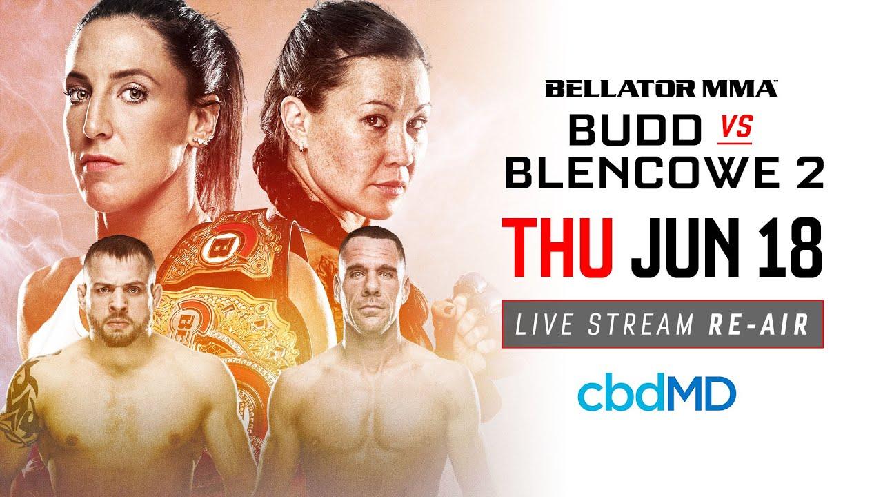 Re-Air | Bellator 189 Budd vs. Blencowe