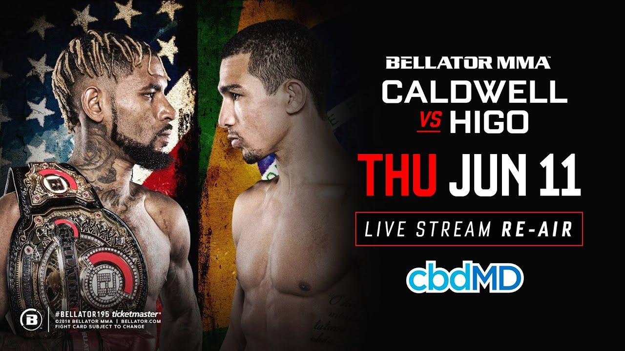Re-Air | Bellator 195 Caldwell vs. Higo