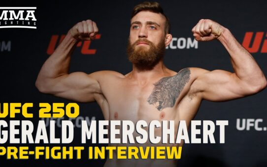 Gerald Meerschaert Talks Multiple Opponent Changes Ahead of UFC 250 – MMA Fighting
