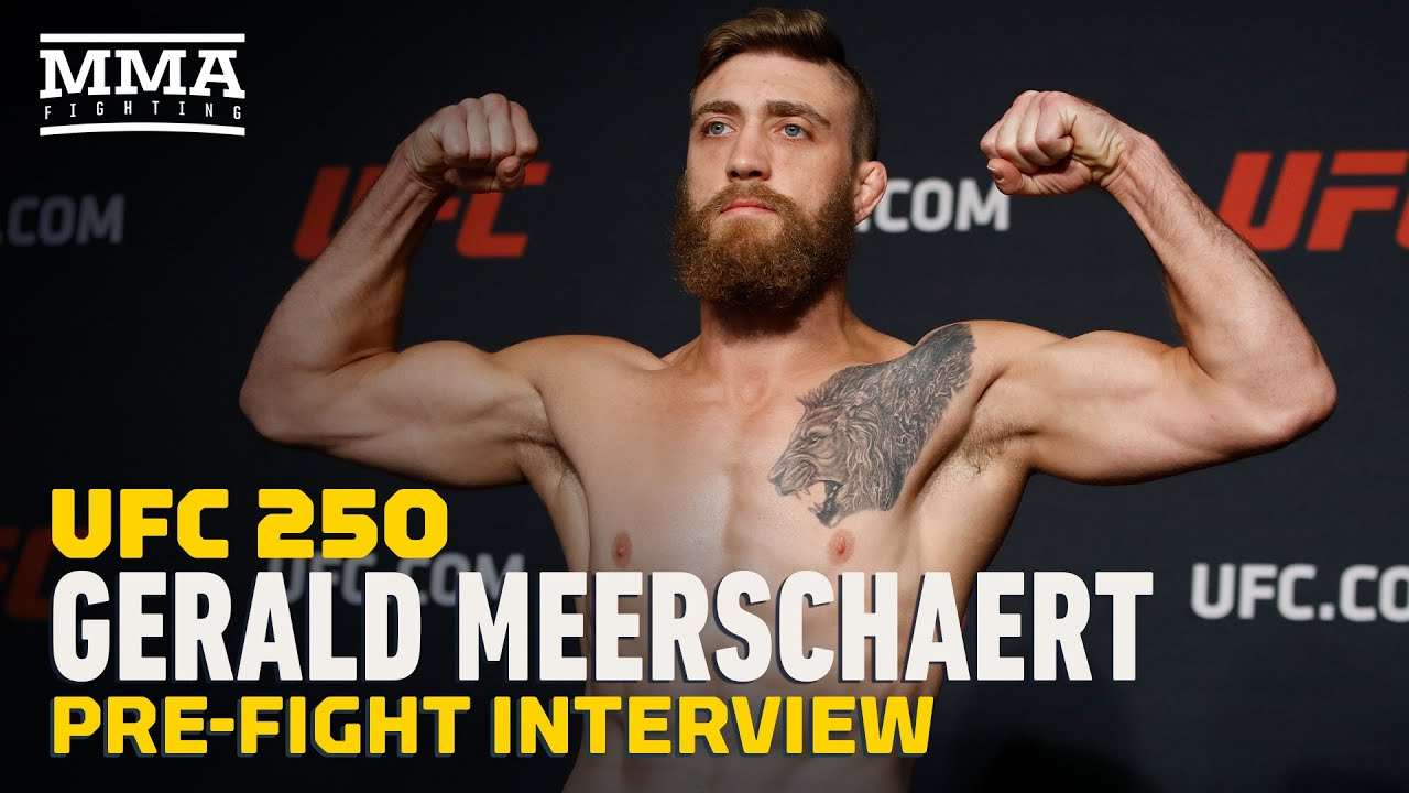 Gerald Meerschaert Talks Multiple Opponent Changes Ahead of UFC 250 - MMA Fighting