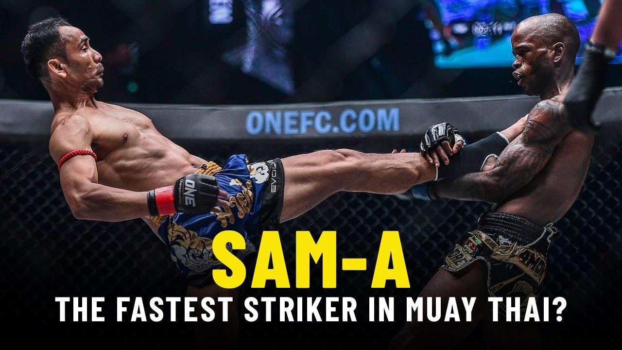 Sam-A Highlights: The Fastest Striker In Muay Thai?