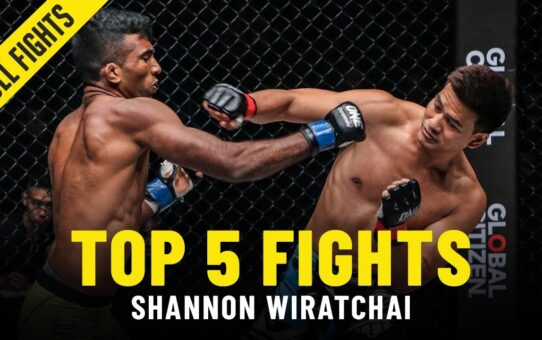 Shannon Wiratchai's Top 5 Fights   ONE Full Fights