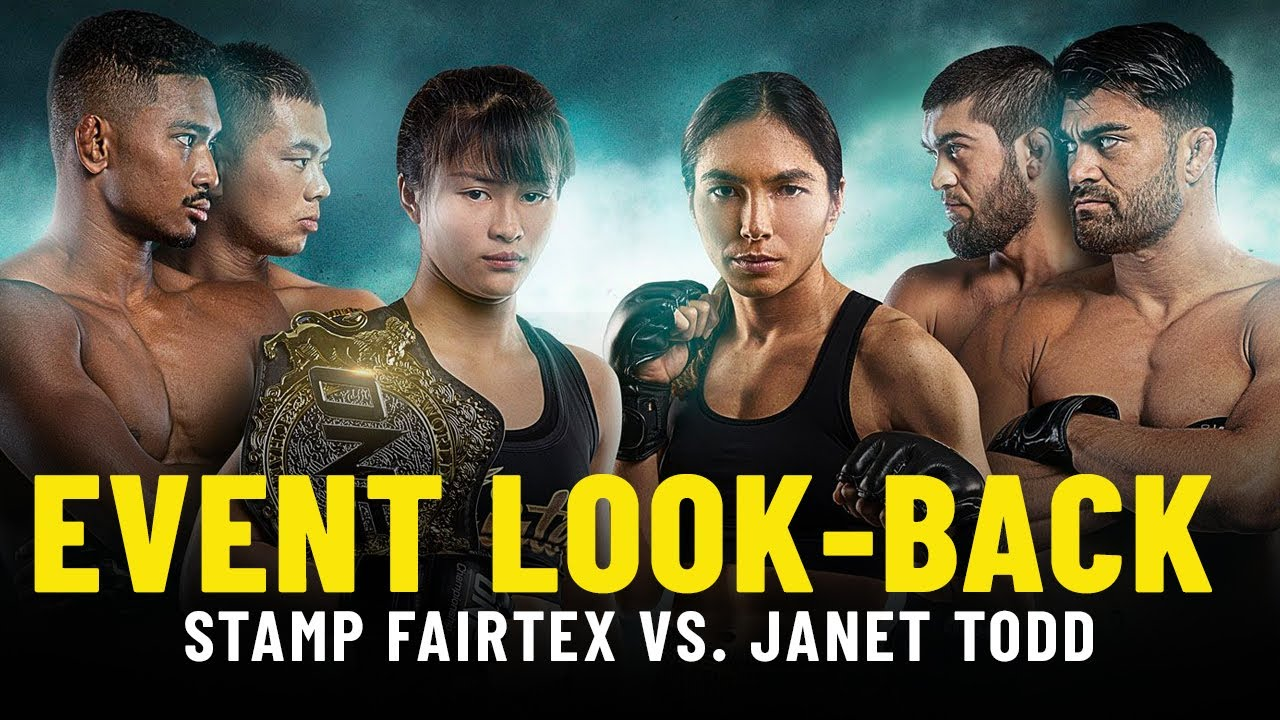 Stamp Fairtex vs. Janet Todd Event Look-Back | ONE Championship Up Close