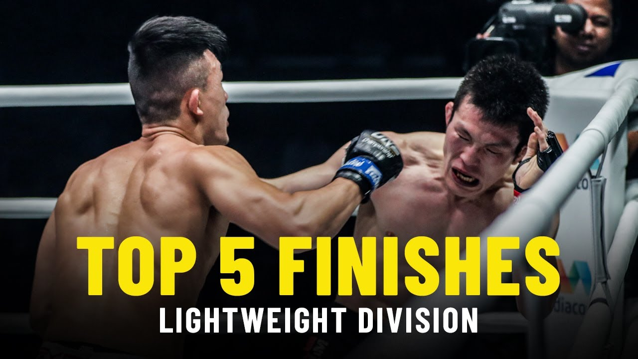 Top 5 Finishes   ONE Championship Lightweight Rankings