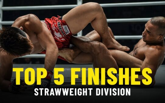 Top 5 Finishes | ONE Championship Strawweight Rankings