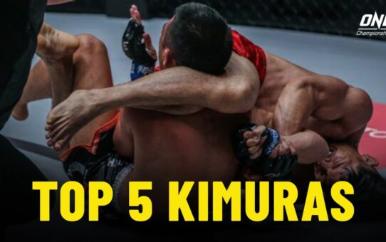 Top 5 Kimura Submissions In ONE Championship