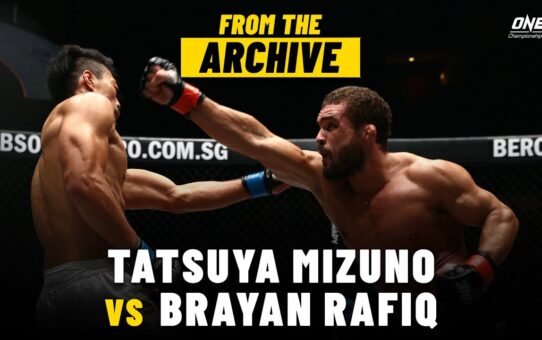 Tatsuya Mizuno vs. Brayan Rafiq | ONE Championship Full Fight | November 2014