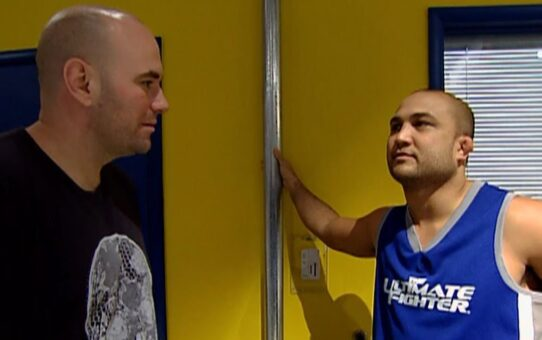 TUF Moments: BJ Penn cuts Andy Wang