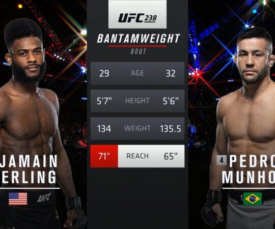 UFC 250 Free Fight: Aljamain Sterling vs Mark Munhoz