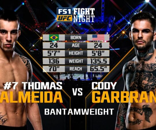 UFC 250 Free Fight: Cody Garbrandt vs Thomas Almeida