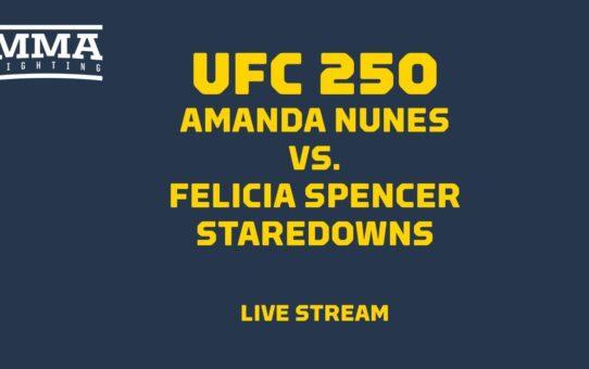 UFC 250 Nunes vs. Spencer Staredowns Live Stream – MMA Fighting