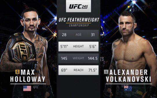 UFC 251 Free Fight: Alexander Volkanovski vs Max Holloway