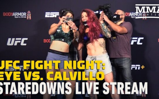 UFC on ESPN 10 Official Staredowns Live Stream – MMA Fighting