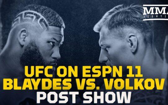 UFC on ESPN 11: Curtis Blaydes vs. Alexander Volkov Post Show Live