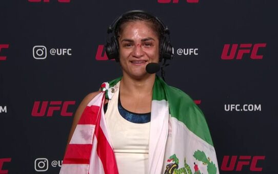 UFC Vegas 2: Cynthia Calvillo Post-fight Interview