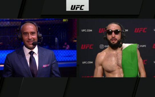 UFC Vegas 3: Belal Muhammed Post-fight Interview