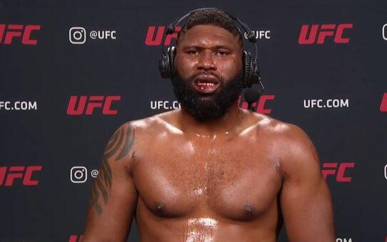 UFC Vegas 3: Curtis Blaydes Post-fight Interview